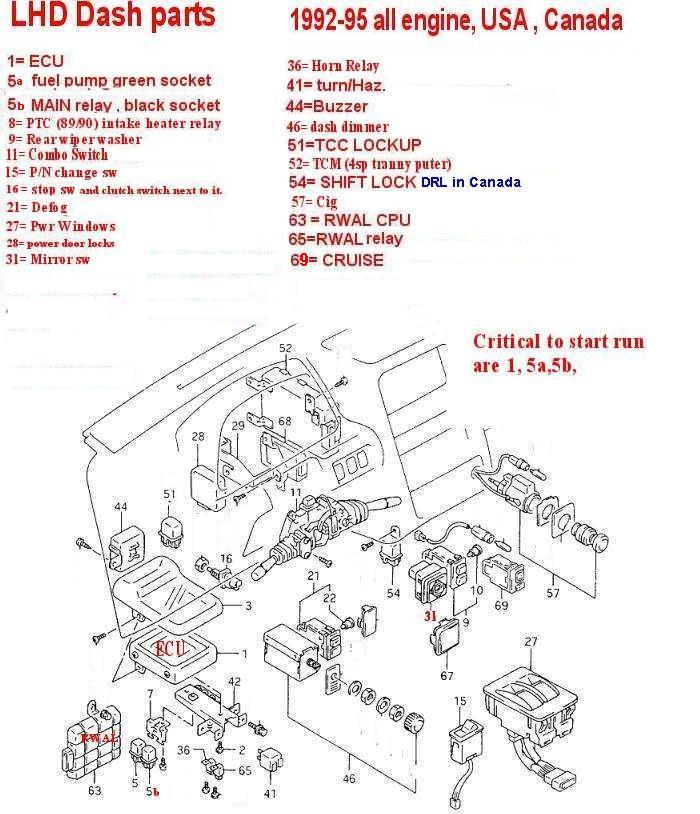 1994 Geo Tracker Engine Diagram - Wiring Diagram  Geo Tracker Engine Hoses Diagram on