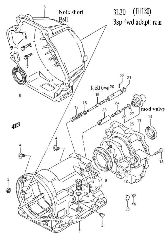 Suzuki Transmission Diagrams