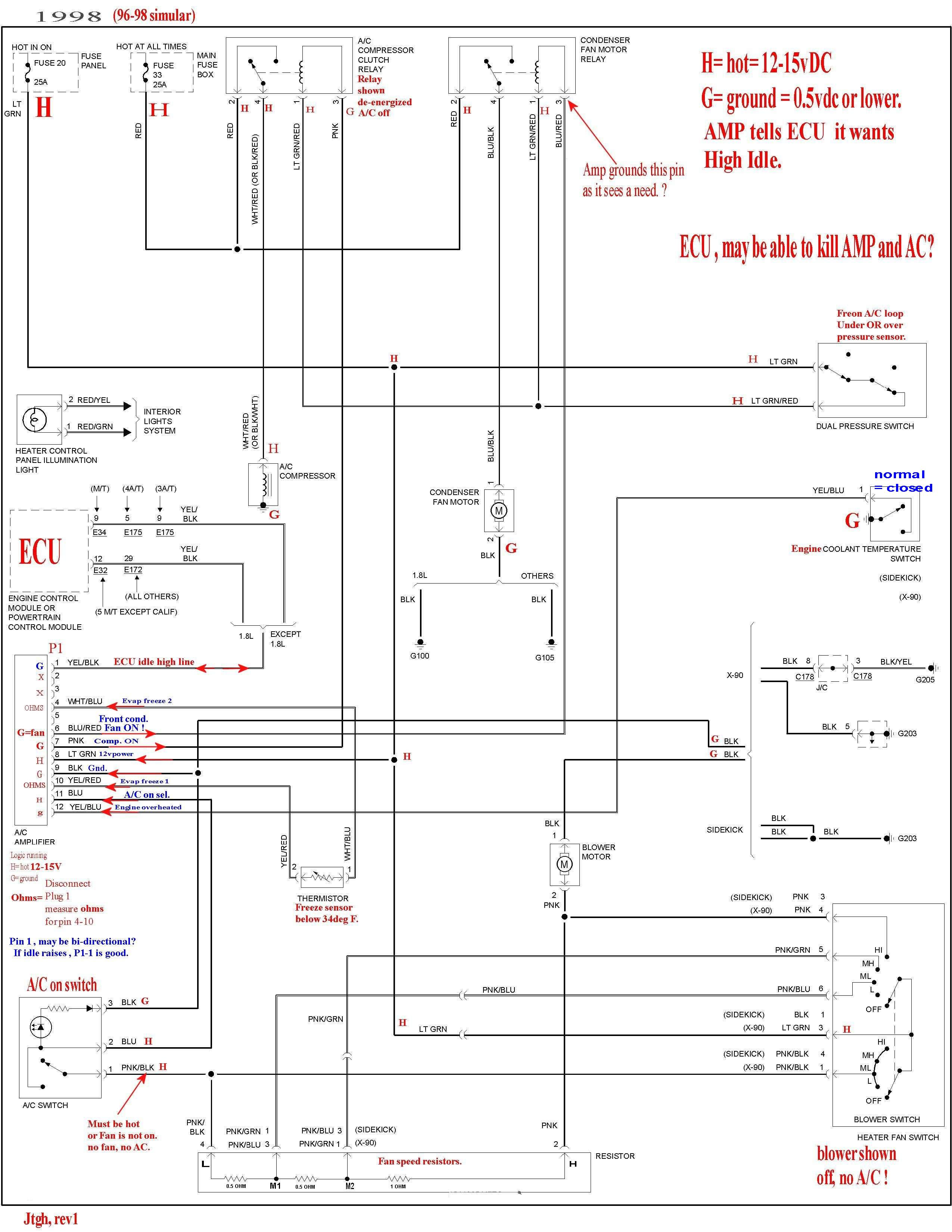 O Sensor Wiring Diagram For Chevy Tracker on