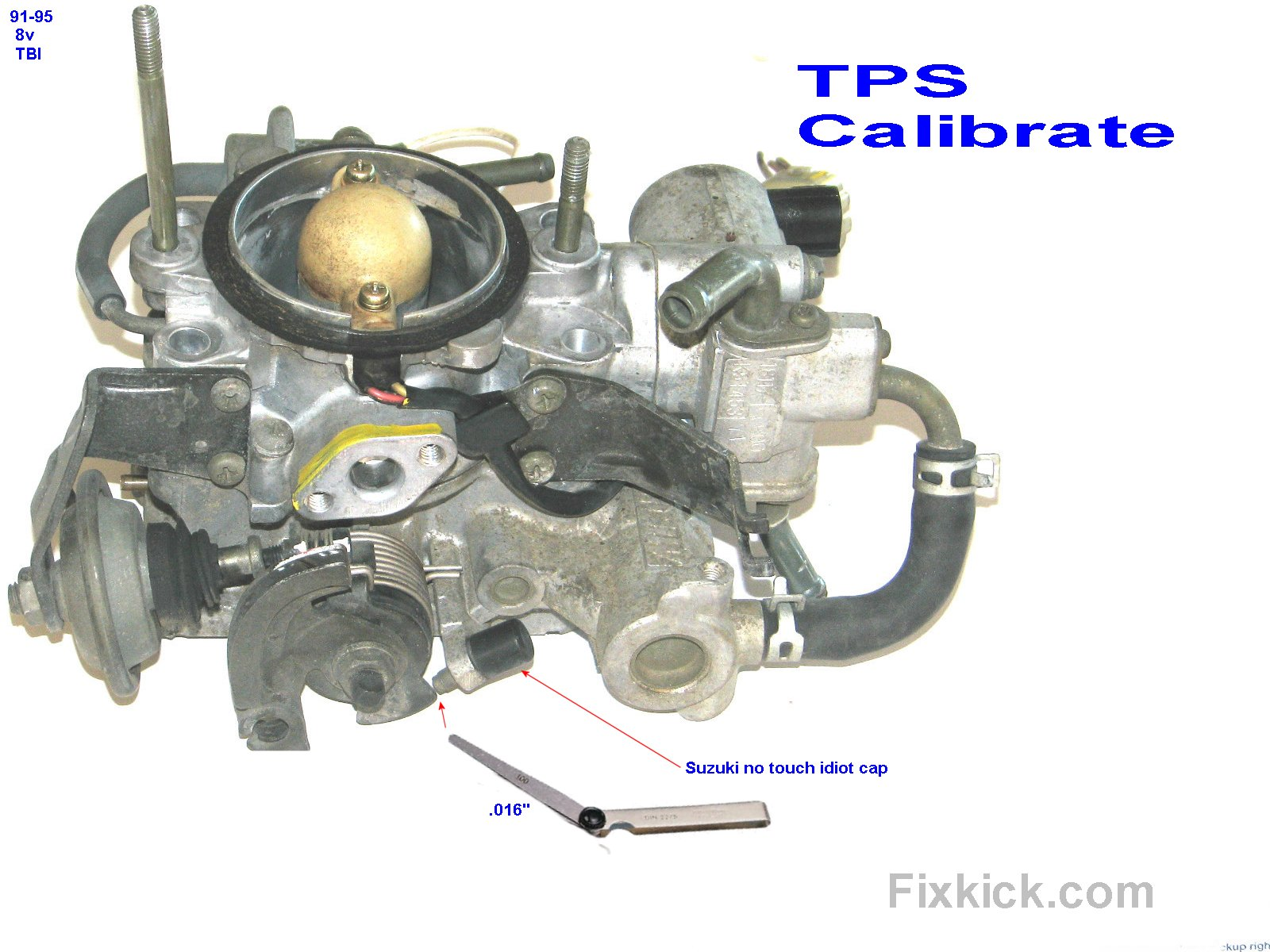 TPS testing and calibration, all Sidekicks and Trackers