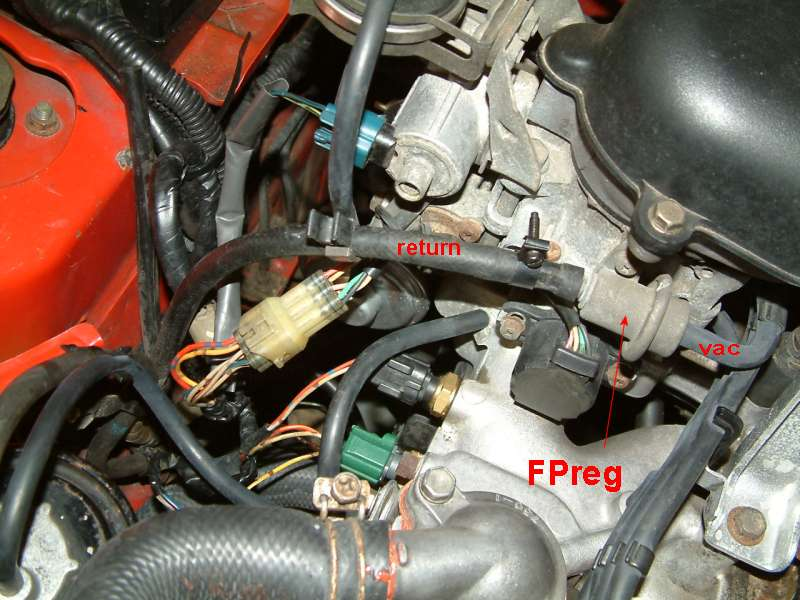 how to test fuel pressure regulator called FPR testing