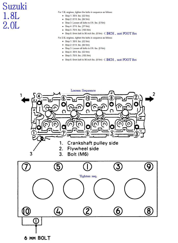 1 8 Liter Suzuki Sidekick Sport Secrets  J18