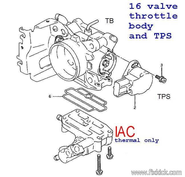 Geo Tracker Engine Diagram 8 Valve